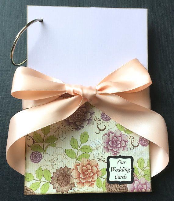 Wedding Card Album  Wedding Card Holder  by NellieandRuthDesigns
