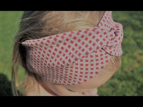 Photo of DIY Stirnband Bandeau Haarband Nähen für Anfänger Nähanweisungen
