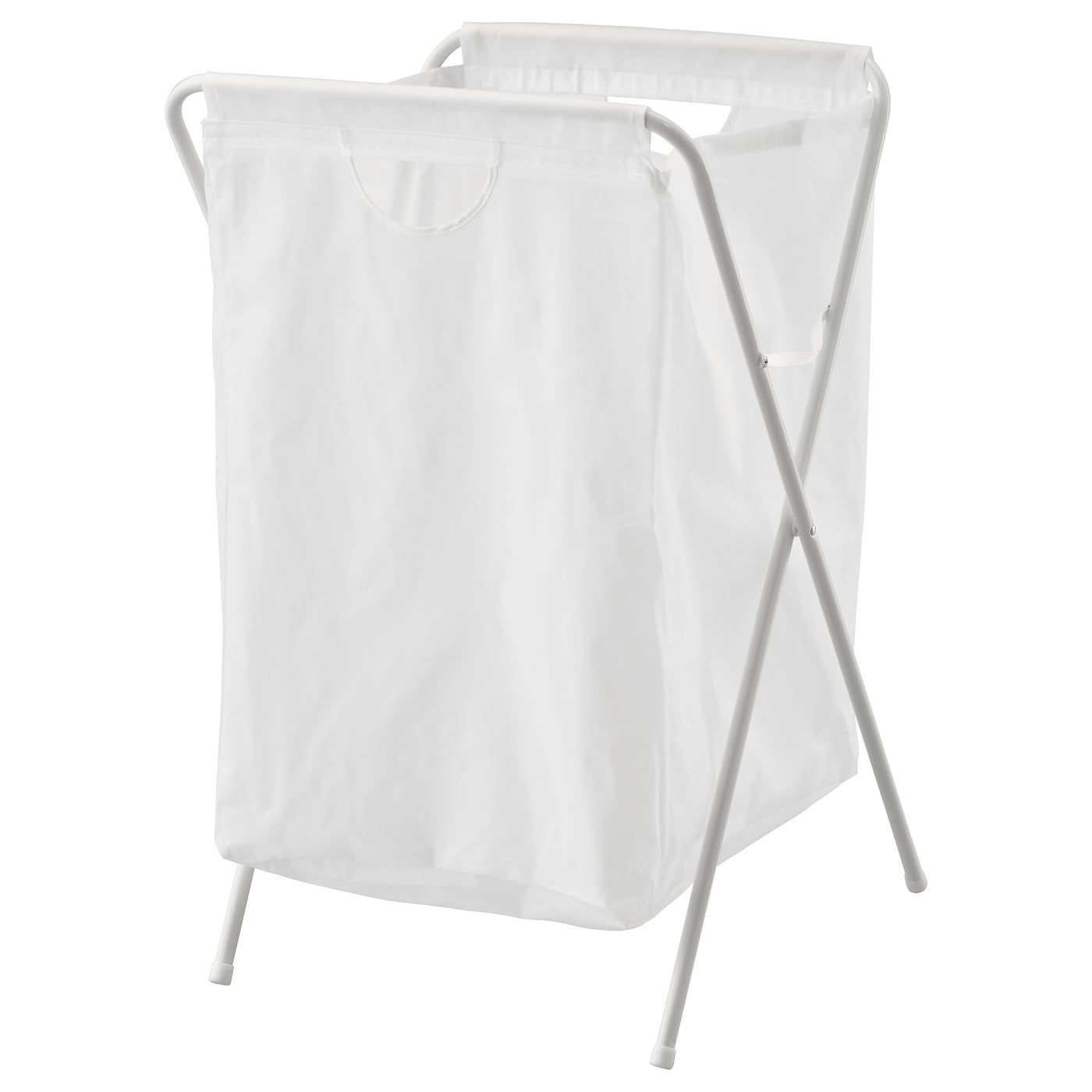 Ikea Jall White Laundry Bag With Stand Ikea Laundry Hamper