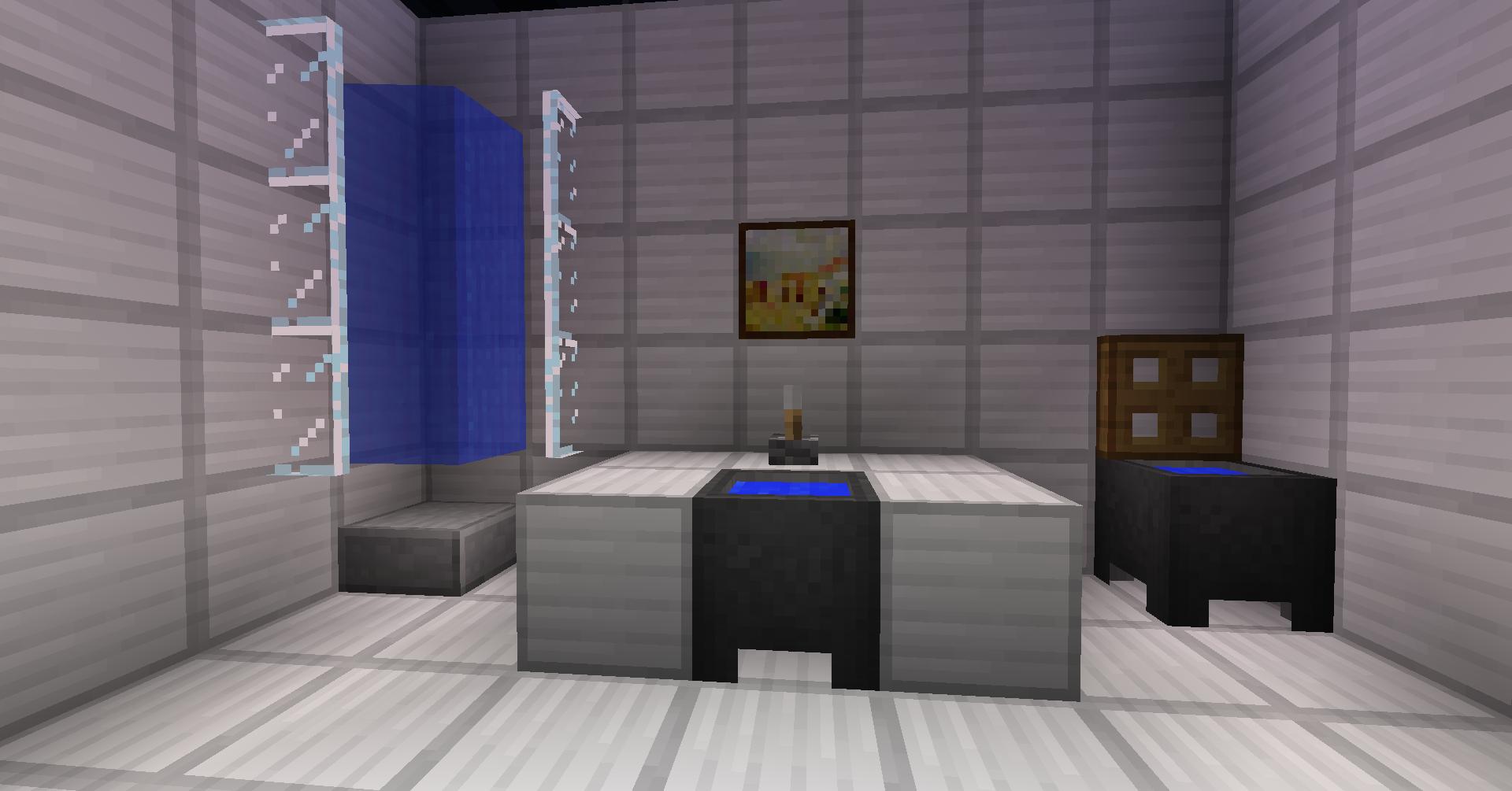 Bathroom Design Minecraft how to make a restroom in minecraft | dance-drumming