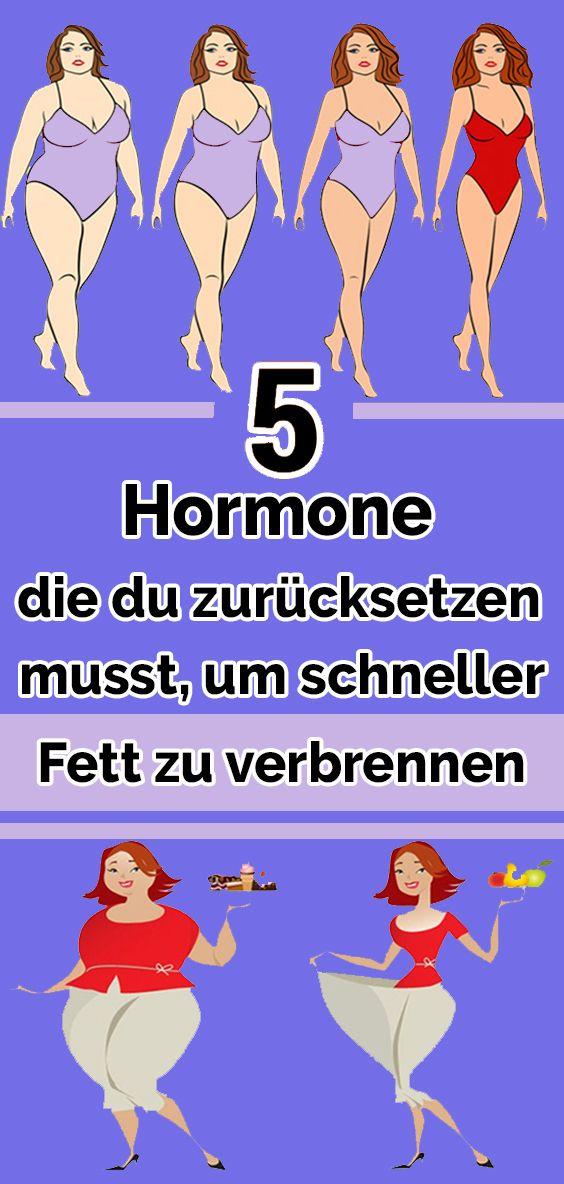 5 Hormone, die du zurücksetzen musst, um schneller Fett zu verbrennen