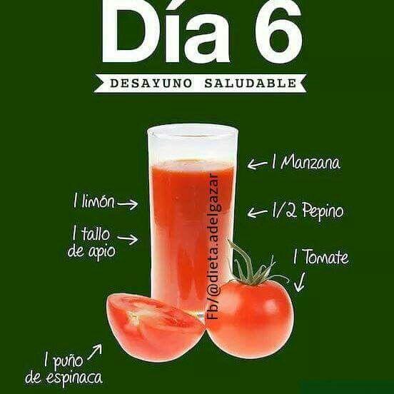 Plan de dieta de frutas y verduras de 7 días