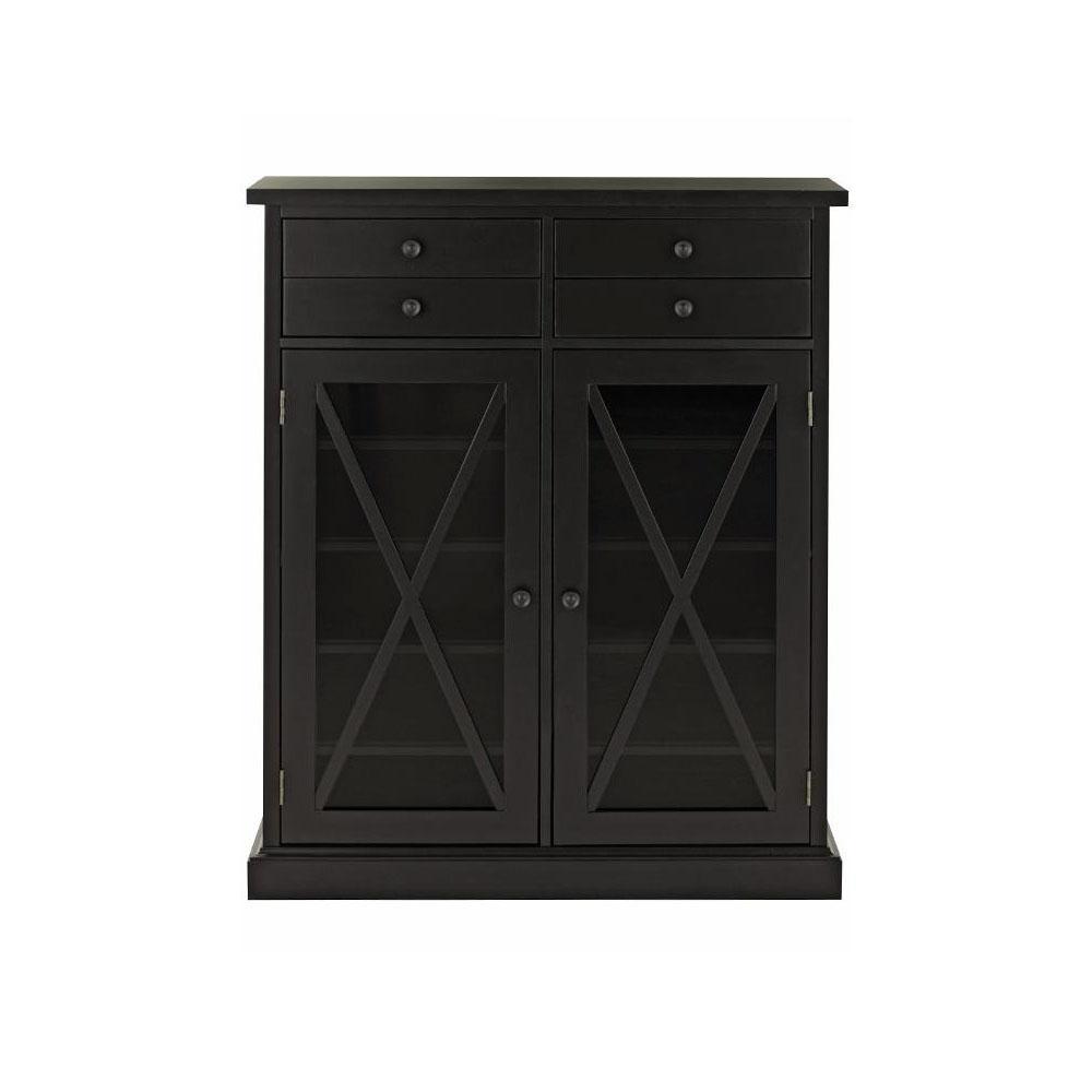 Home Decorators Collection Hampton Black Storage Cabinet 9249800200 White Storage Cabinets White Storage Storage Cabinet