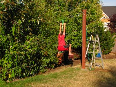 Backyard zip line for the boys. What could go wrong? Plan to build for - Backyard Zip Line For The Boys. What Could Go Wrong? Plan To Build