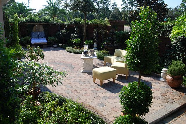 Courtyard Garden Backyard Landscaping Designs Small Backyard Landscaping Backyard