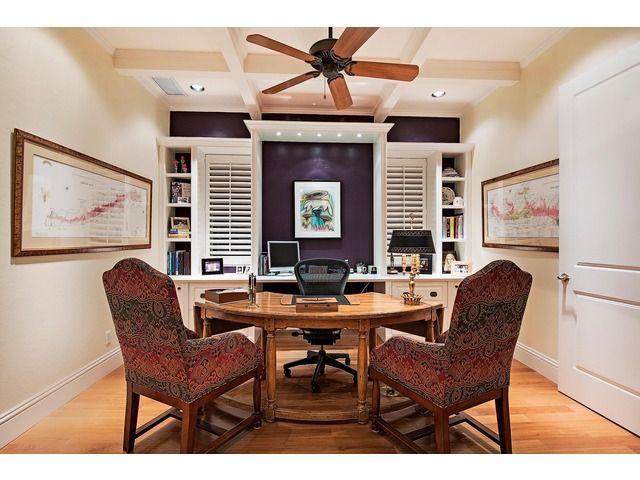 Beau Coastal Home Office Space   Royal Harbor | Naples, Florida