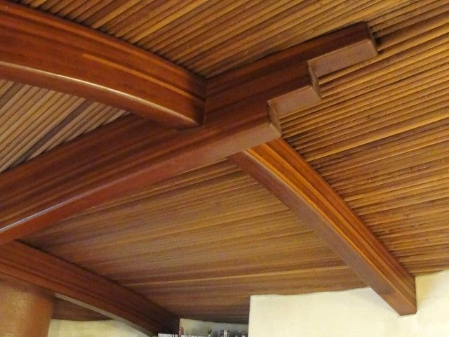 Ceiling Redwood Wood Ceilings Types Of Real Beamed