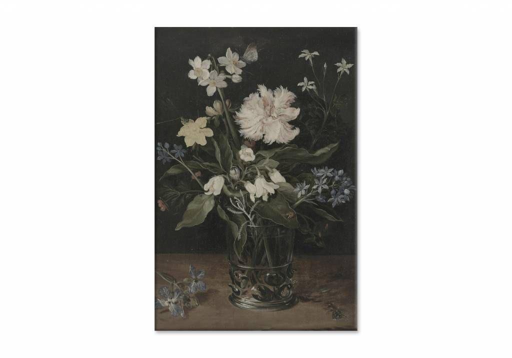Bestel Stilleven Met Bloemen In Een Glas Door Jan Breughel Op