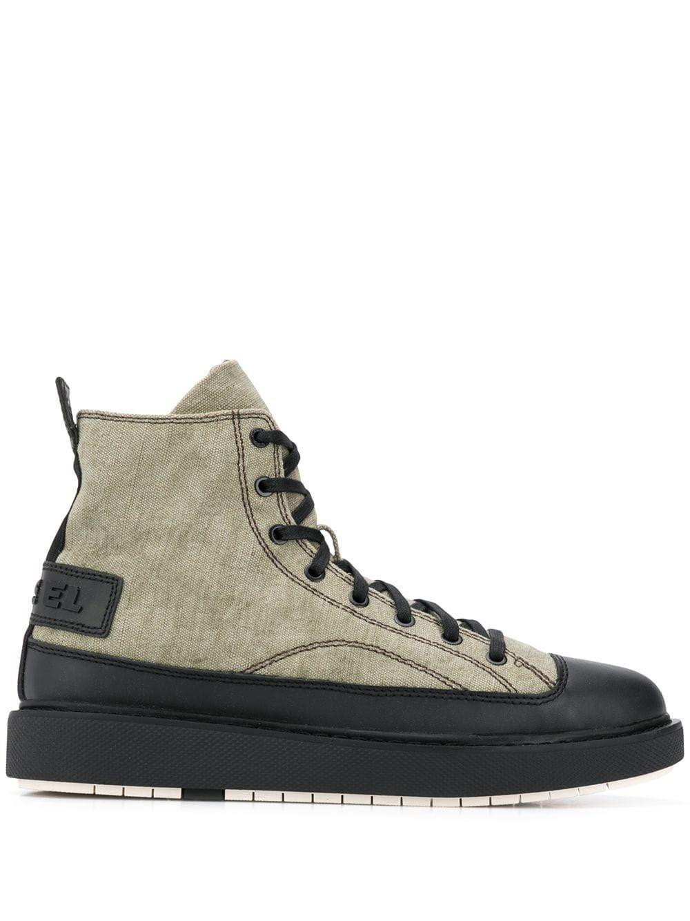 High top sneakers, Diesel shoes, Sneakers