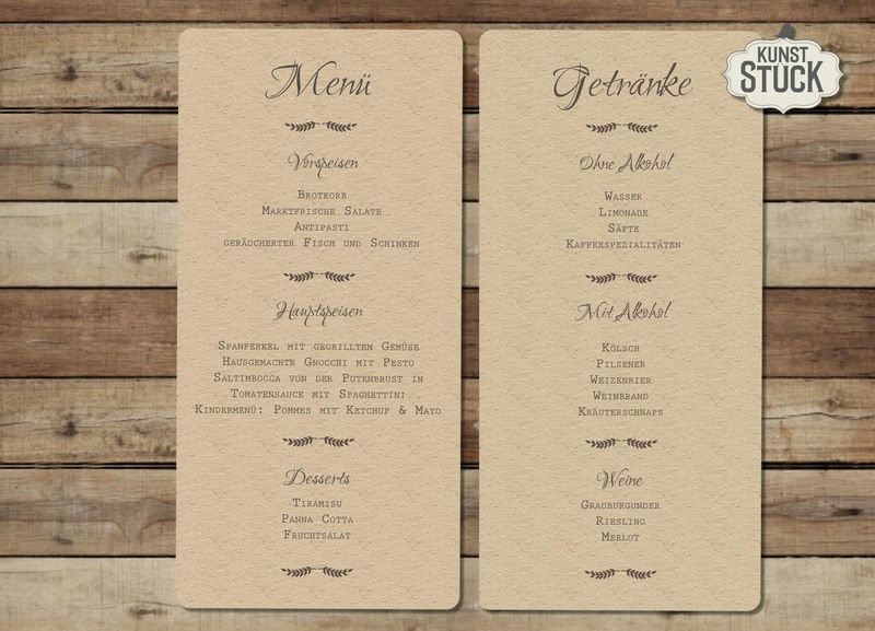 Menukarte Typo Love Getranke Karte Hochzeit Getrankekarte Hochzeit Hochzeit Menu