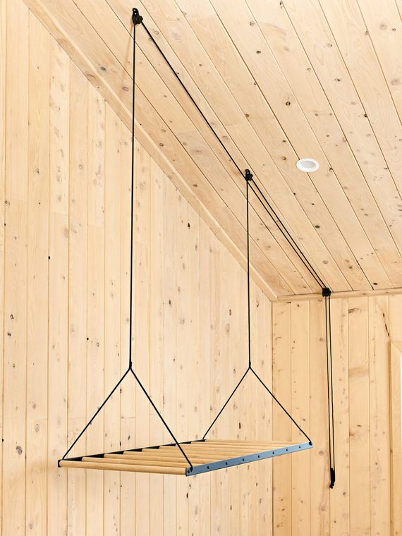 The Hanging Drying Rack Is An Economical And Environmental Way To