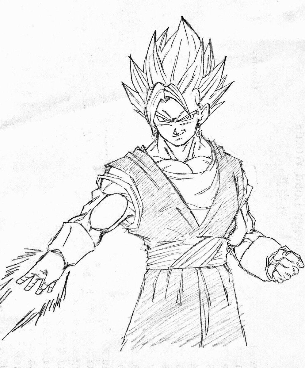 Ssb Vegetto Ki Blade Dragon Ball Dragon Ball Dragon Y Dragon Ball Z