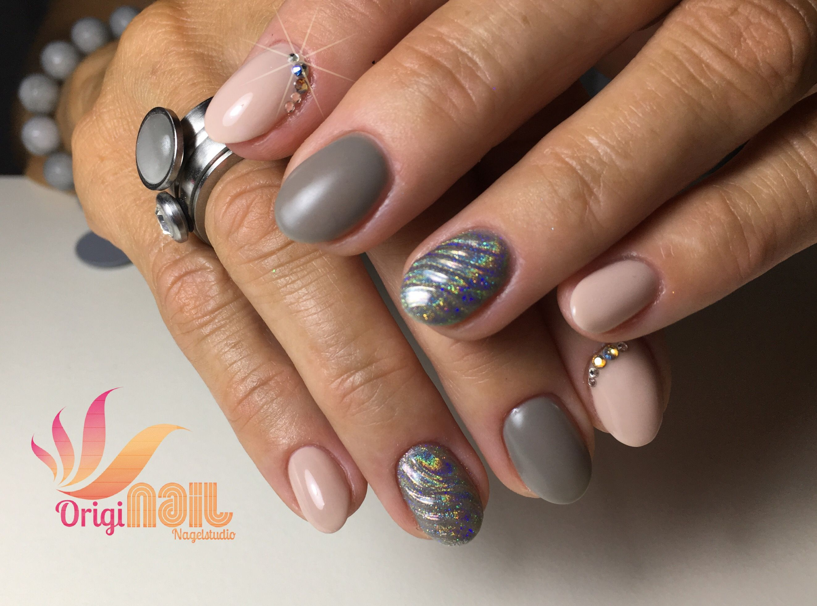 Unicorn Horn Nail Nude Taupe