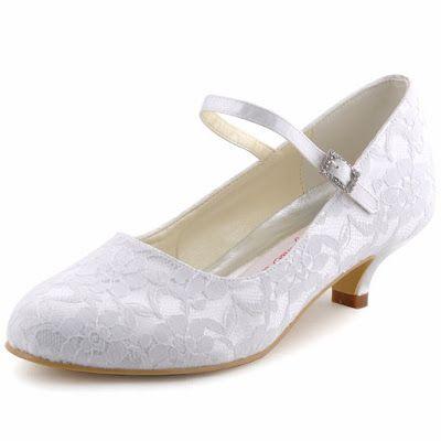 zapatos de novia bajitos | zapatos | pinterest | zapatos de boda