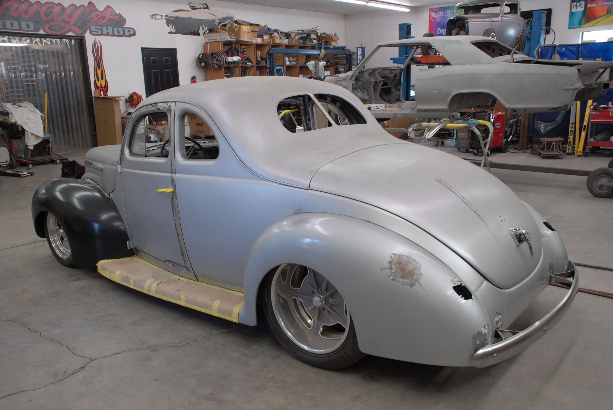 1932 ford bobby alloway the 1940 coupe is coming along. Black Bedroom Furniture Sets. Home Design Ideas