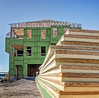 Zip System Huber Zip System Sheathing Zip System Wall Sheathing Huber Engineered Woods Green Building Materials Exterior Insulation Sheathing
