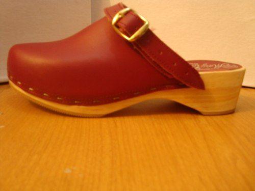 066451f8dd9 Zapato Sueco Suela En Madera Y Piel - en MercadoLibre