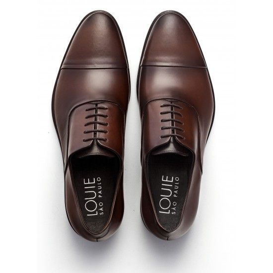 c4b6eef907 Sapato Social Oxford Melrose Whisky
