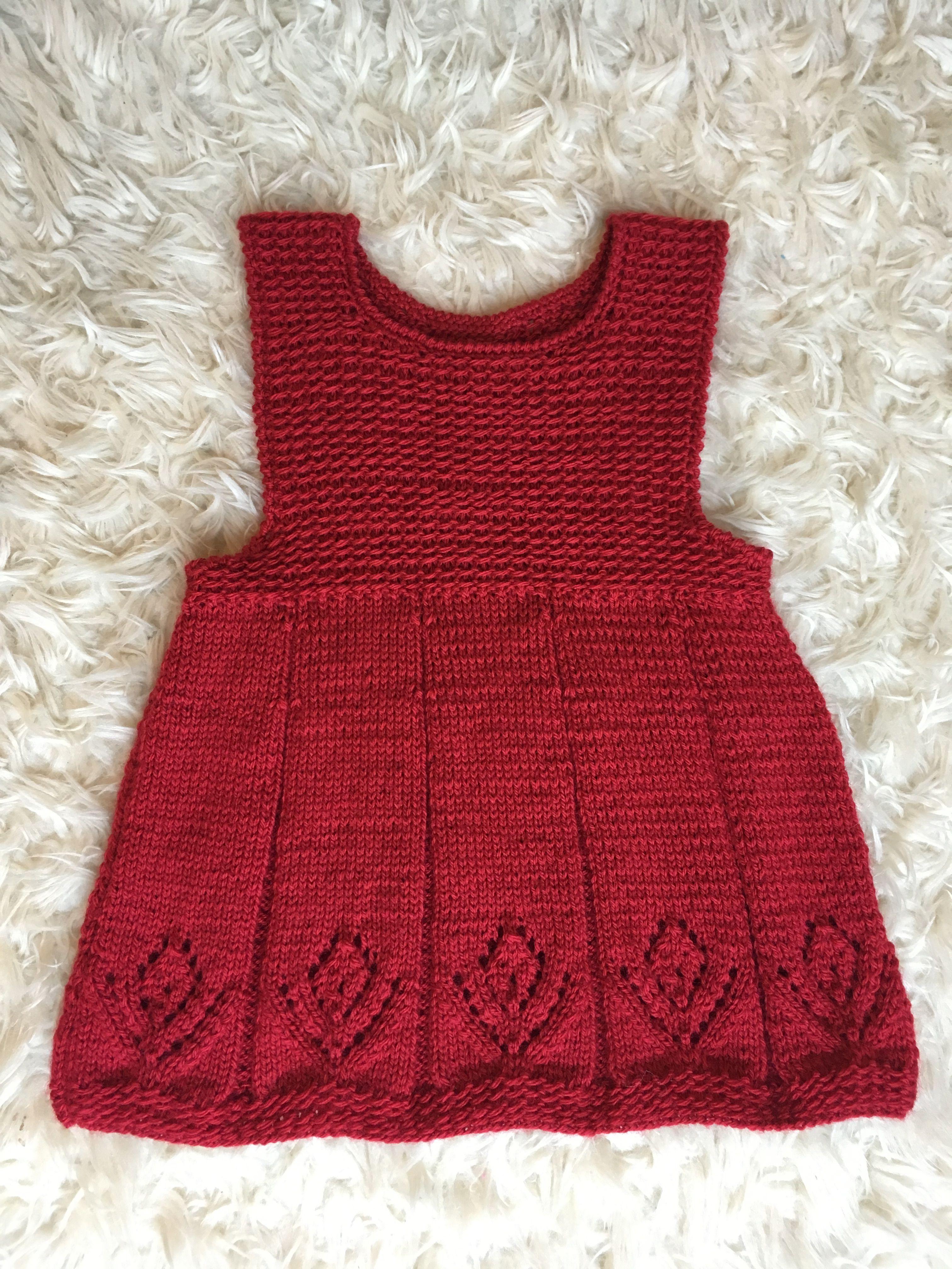 Knitted sarafan