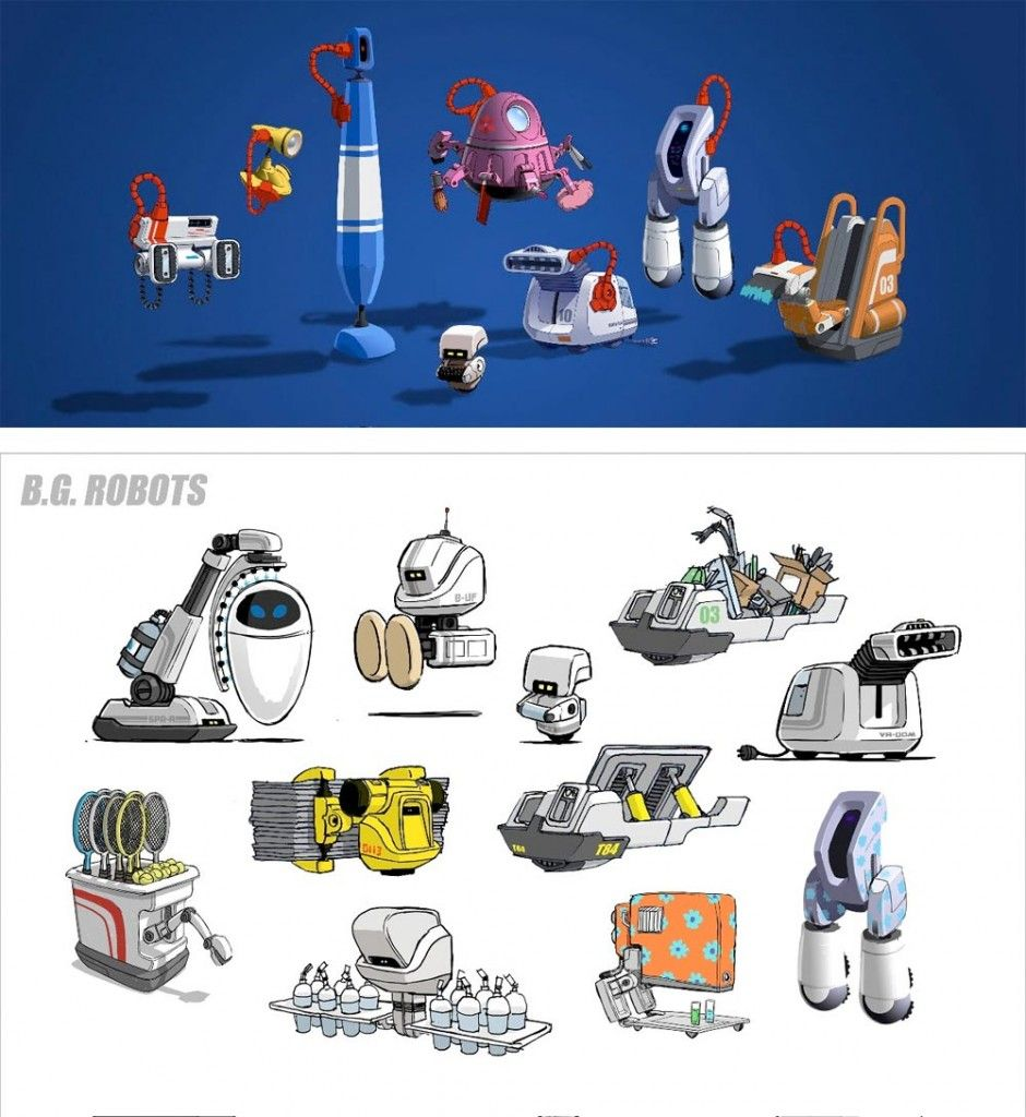 Feedly Organize Read And Share What Matters To You Character Design Animation Robot Concept Art Disney Movie Art