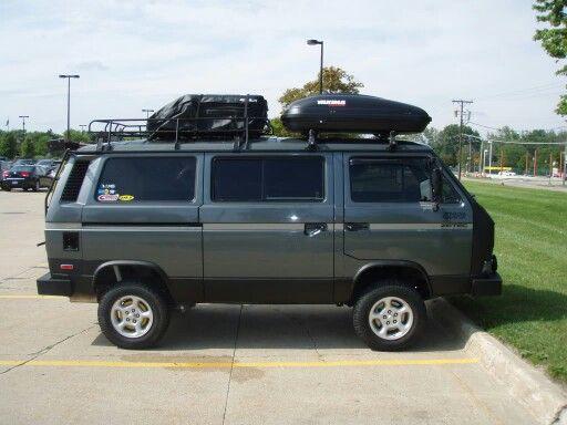 Syncro Gray Roof Rack Vw Wagon Vw Syncro Vw Vanagon