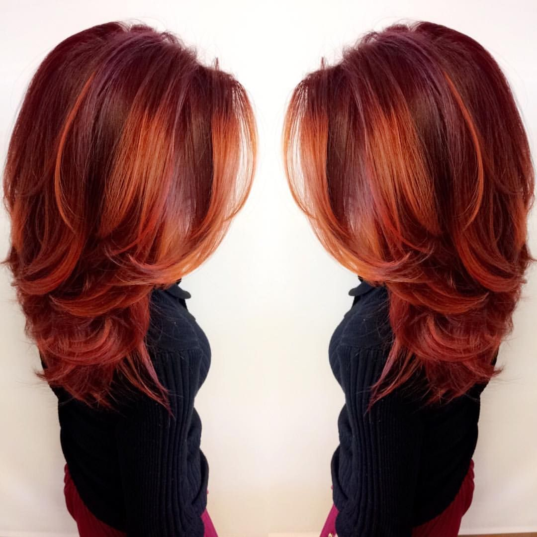 Book about color red - This Vibrant Firey Red Look Was Made With Redken City Beats Color By Anissa Lucero