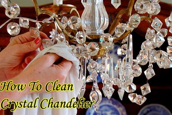 How To Clean Crystal Chandelier, Cleaning A Chandelier