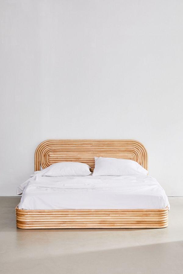 Furniture Upholstered Platform Bed