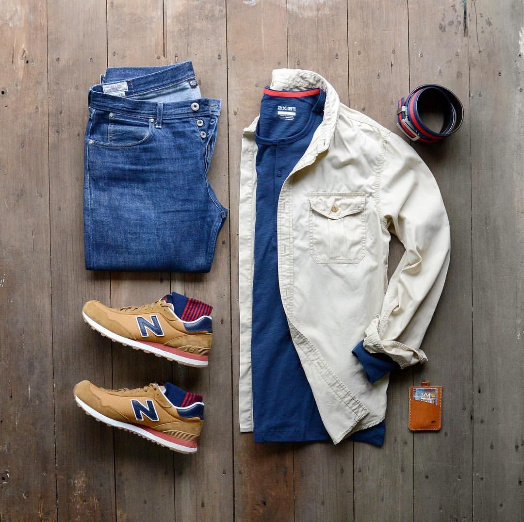 Blue flannel outfits for guys   Me gusta  comentarios  Seth Hartman  mycreativelook