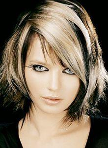 coupe-de-cheveux-mi-long-blond-femme-1.jpg (220×300)   Coiffure et ...