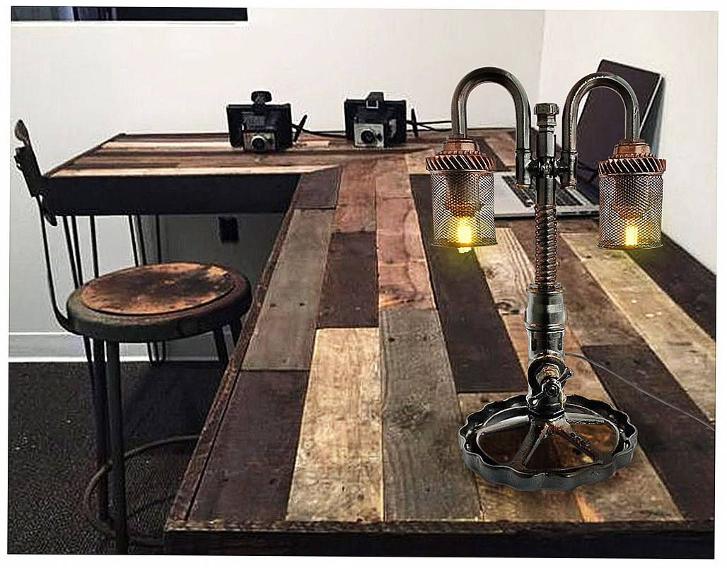 Industrial Steampunk Art Lighting Lamp Retro Dining Room Vintage Outdoor Rustic Style