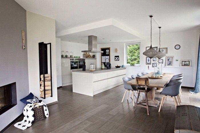offene küche geschickt trennen   Küche Möbel - Küchen ...