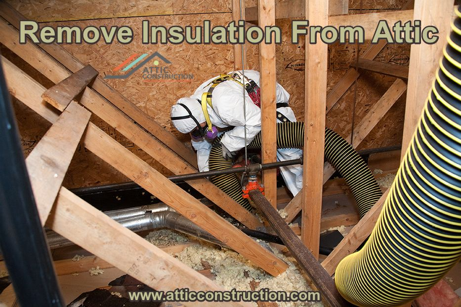 Removing Insulation From Your Attic Become Necessary When There Is Lots Of Rodent Infestation Debris Dirt Or Damaged I Insulation Removal Insulation Cleaning