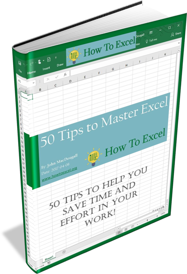 free book for 50 tips to master excel excel pinterest free books