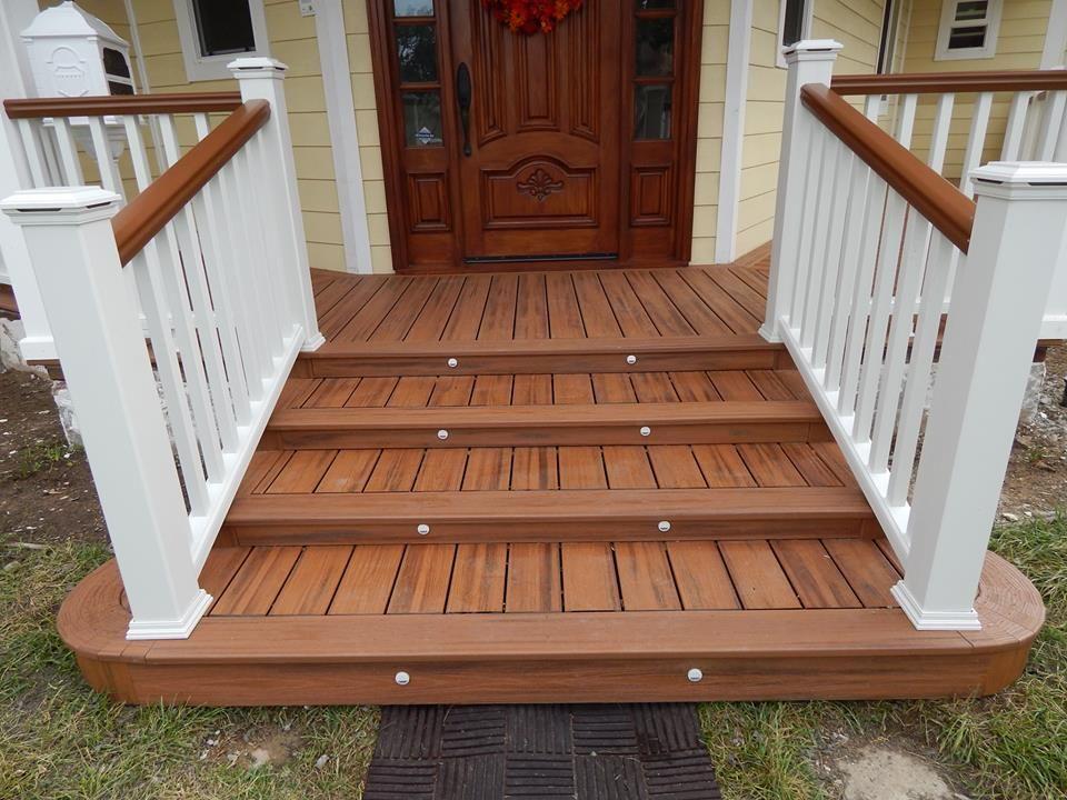 Pin By Nicole Bennett On Trex Deck Design Deck Decks Porches