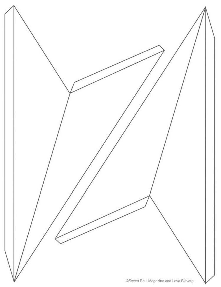 Étoile de Noël en papier à faire soi-même : DIY étoile 3d en 50 idées super