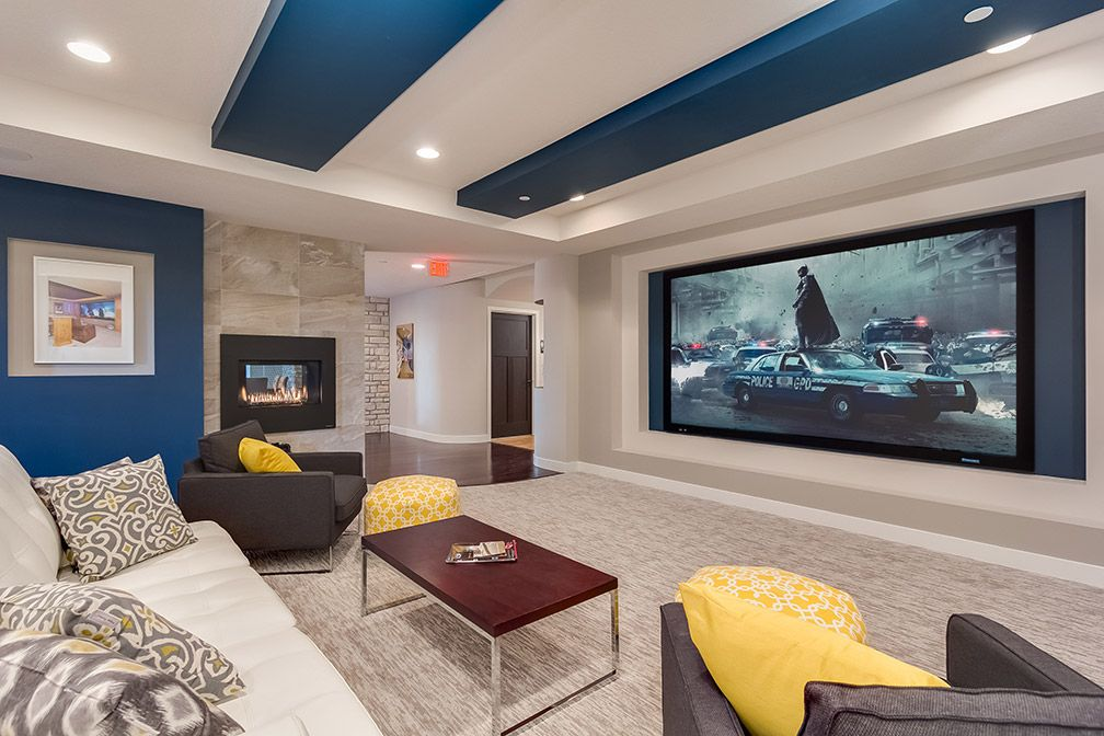 48 Basement Home Theater Design Ideas For Entertainment Basements Unique Basement Home Theater Design Ideas Property