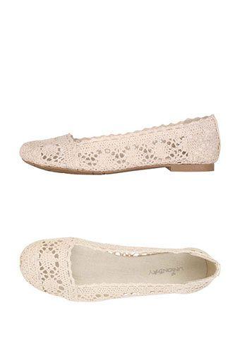 Ingrid Crochet Flat   $32.90