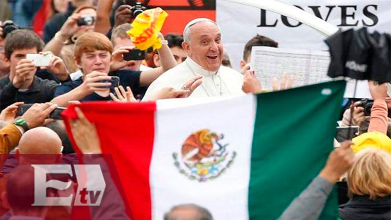 Detalles de la visita del Papa a México el 12 de Febrero del 2016 / Fran...
