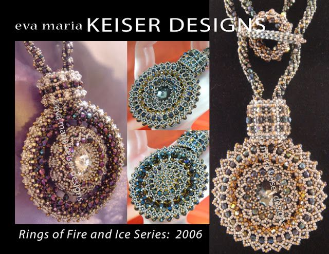 Rings of Fire and Ice Series | 2006 Eva Maria Keiser