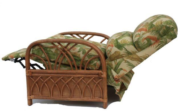 rattan recliner