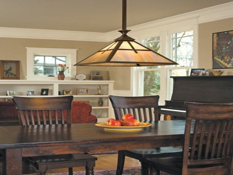 Modern Arts And Crafts Dining Room Lighting With Images Dining Room Lighting Craftsman Decor Craftsman Style Decor