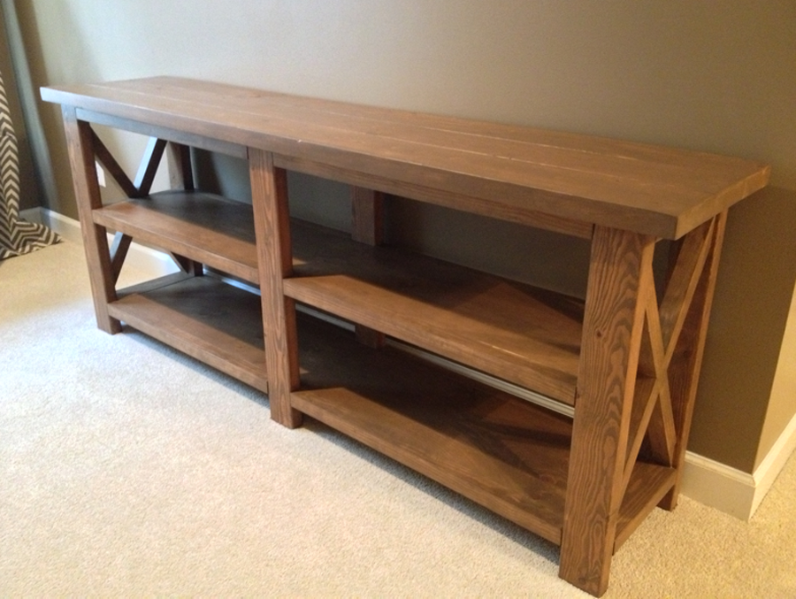 Diy Rustic Console Table | Modern Console Tables
