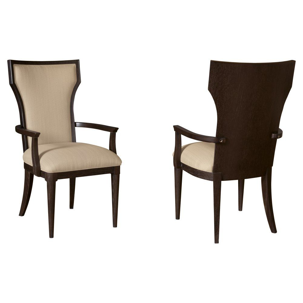 A r t furniture greenpoint oval dining table in coffee bean - A R T Furniture Greenpoint Coffee Bean Upholstered Back Arm Chair Set Of 2 Dining Chairs