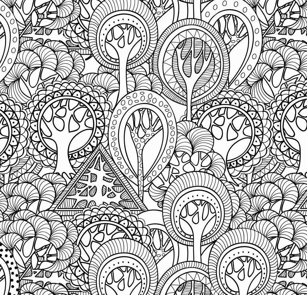 complex christmas coloring pages - photo#19
