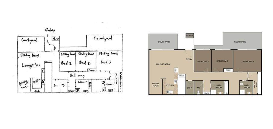 Boxbrownie Com Floor Plan Redraw Service In 2020 Floor Plans Custom Floor Plans Cottage House Plans