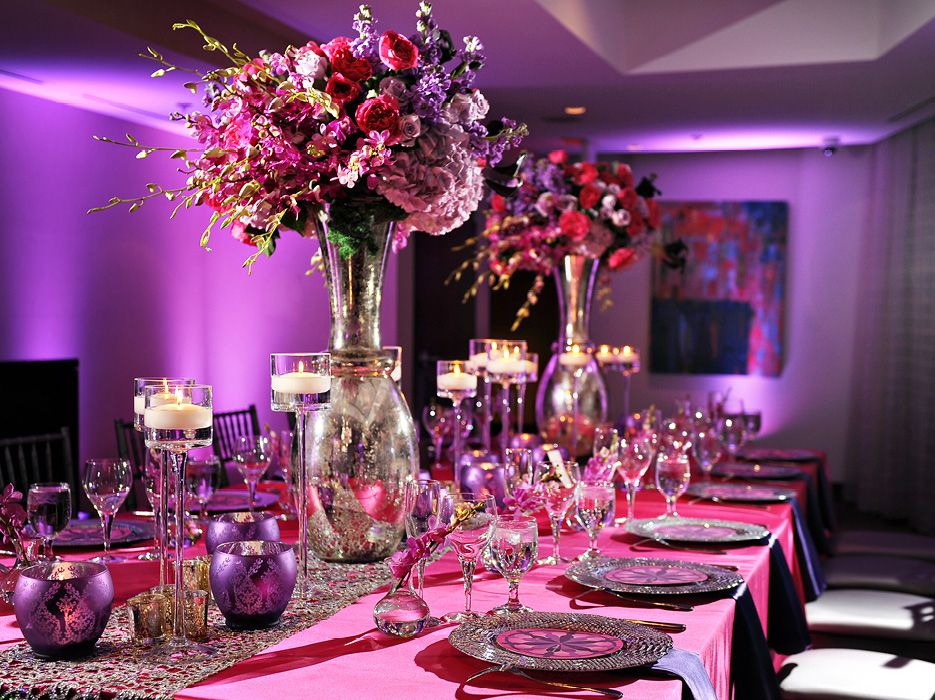 Adult Birthday Party: Sophisticated and Elegant Dinner Party ...