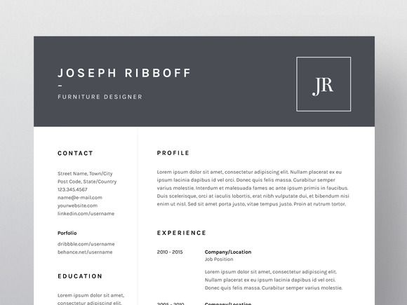 Joseph Ribboff - Resume\/CV Template by Worn Out Media Co on - media resume template