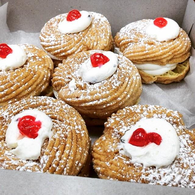 Sfingi or St. Joseph's Day Zeppole - Tiny New York Kitchen