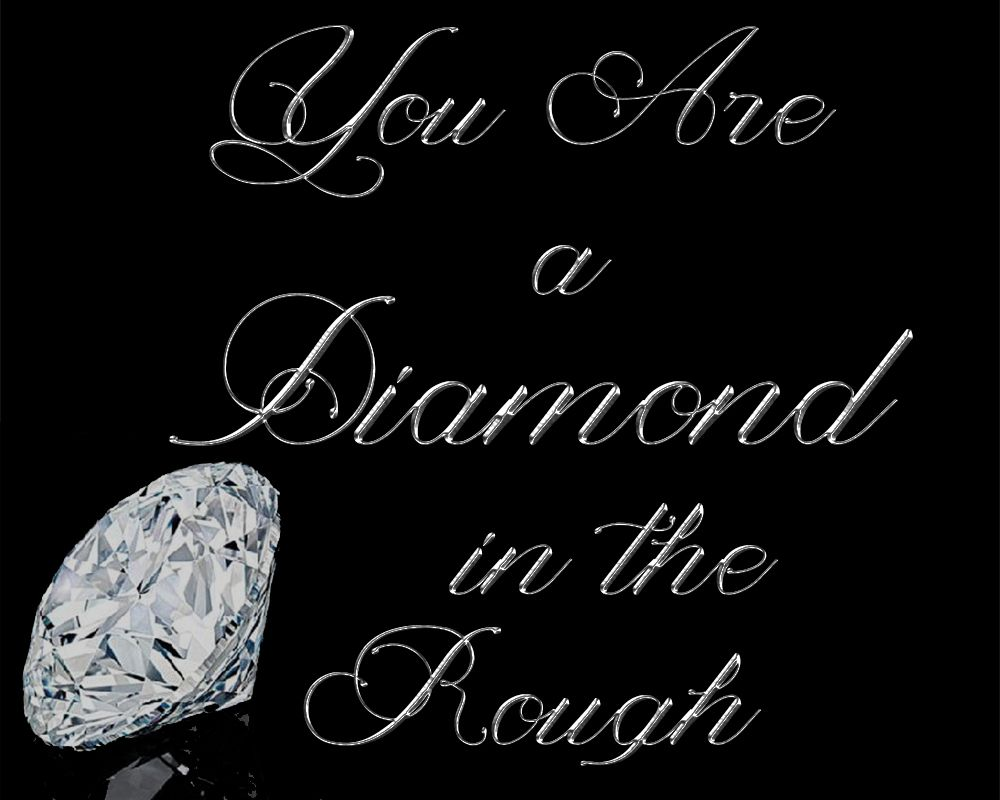 You Are My Diamond In The Rough Free Printable Rough Diamond Christian Women S Ministry Silhouette Crafts